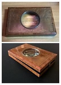 Restauro e Luciatura di una scatola in radica