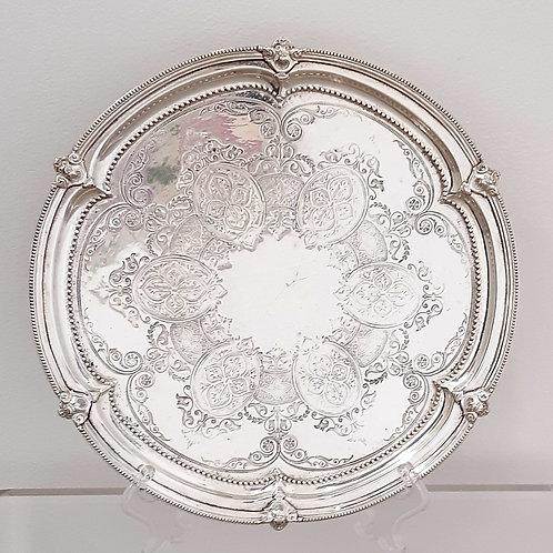 Vassoio tondo Vittoriano 1863 Galleria Papier