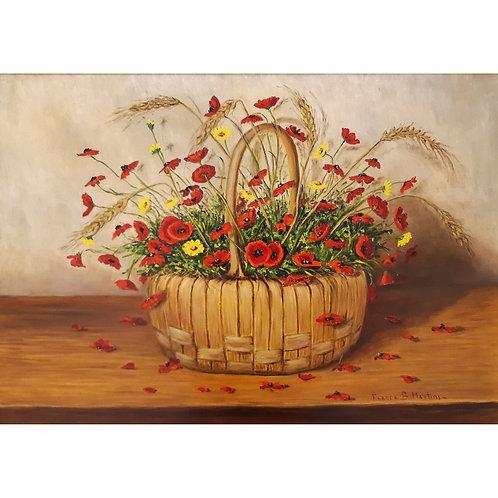 Natura morta con fiori di campo - Franca Martini - Galleria Papier