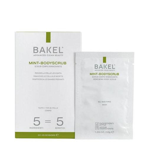 Bakel Mint-BodyScrub 6x30 gr - Profumo Profumeria Artistica Sabaudia