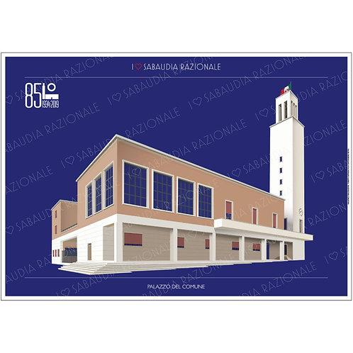 Palazzo del Comune - Sabaudia Razionale - Galleria Papier