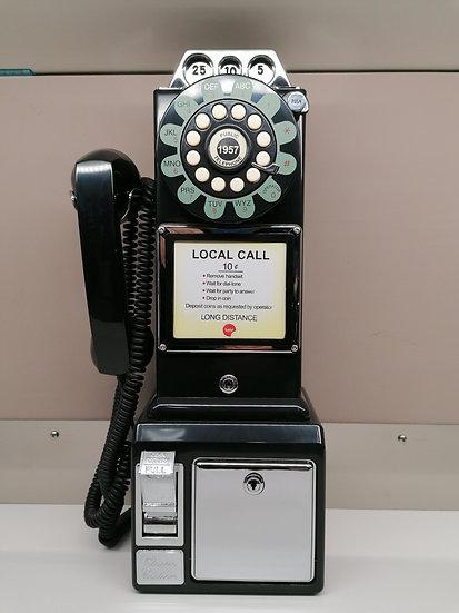 Telefono vintage BALVI funzionante con gettoniera salvadanaio completo di cavo