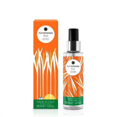 Tuttotondo Riso Deodorante spray ristrutturante - Profumo Sabaudia