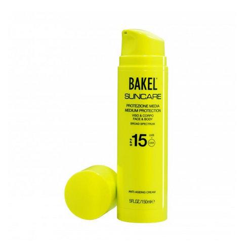 Bakel Crema Solare Viso e Corpo SPF 15 150 ml - Profumo Profumeria Artistica Sabaudia