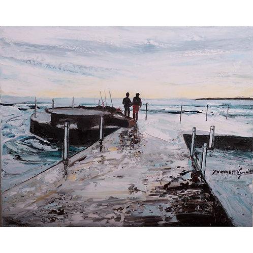 Yvonne Gandini - Desiderio di infinito - Olio su tela - Galleria d'arte Papier