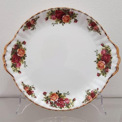 Piatto dolci da 23 cm Royal Albert Old country roses del 1962 Galleria Papier
