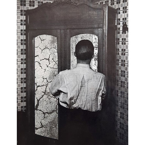 Alfonso Marino - L'armadio a specchi, Rilocazioni - Collage -  Exclusive Galleria d'arte Papier