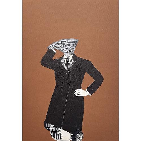Alfonso Marino - Pensando in fretta, Hallucinations - Collage -  Exclusive Galleria d'arte Papier