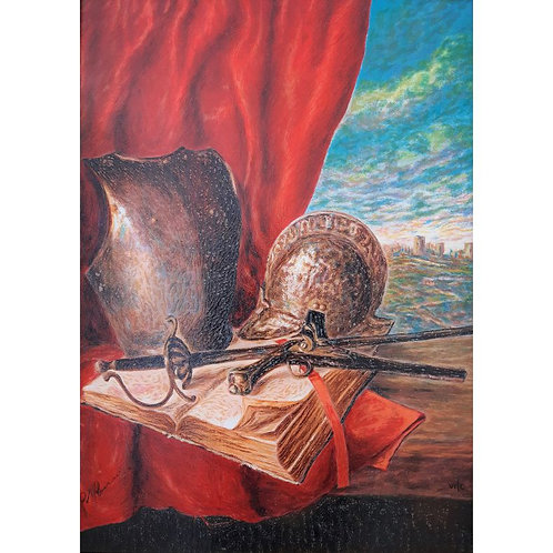 Giovan Francesco Gonzaga - Composizione con armi 2007 - Galleria Papier