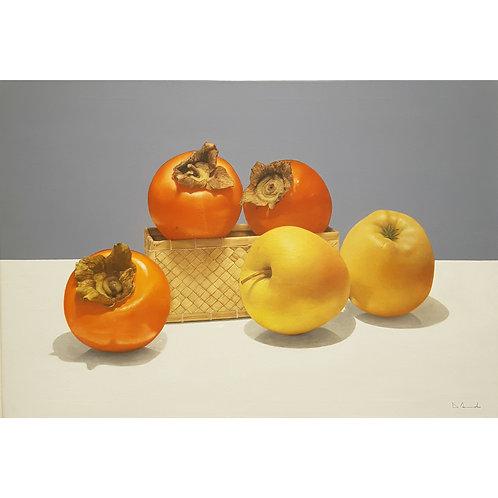 Catello D'Amato - L'Escluso - Olio su tela - Exclusive Galleria Papier