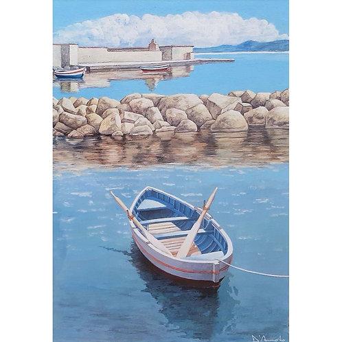 Catello D'Amato - Barca solitaria - Exclusive Galleria Papier