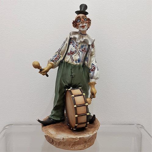 Il clown di Mario Alparone Capodimonte 1960 Galleria Papier