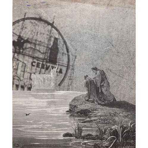 Alfonso Marino - Purgatorio, Doré - Collage -  Exclusive Galleria d'arte Papier