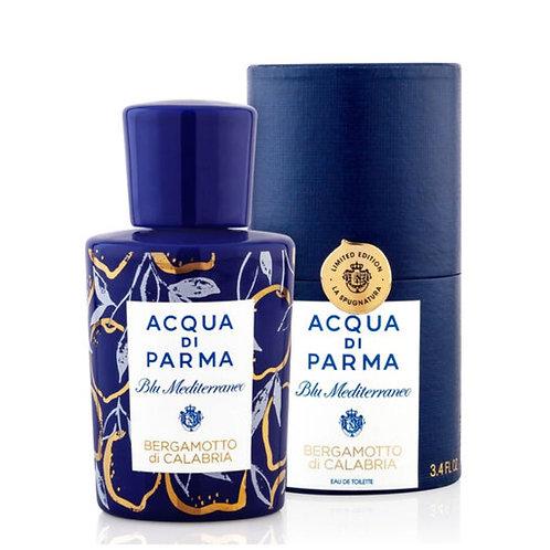Acqua di Parma Blu Mediterraneo Bergamotto di Calabria La Spugnatura EDT 100 ml - Profumo Profumeria Artistica Sabaudia