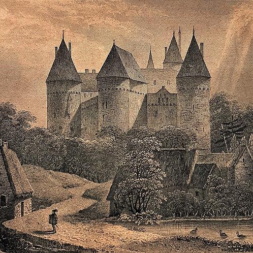 Incisioni di Chateaoubrian 1840 Galleria Papier