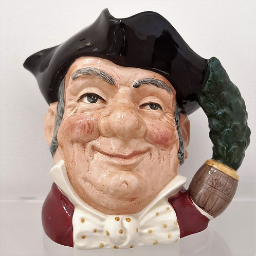 Toby Jug Mine Host 1957 Royal Doulton Galleria Papier antiquariato