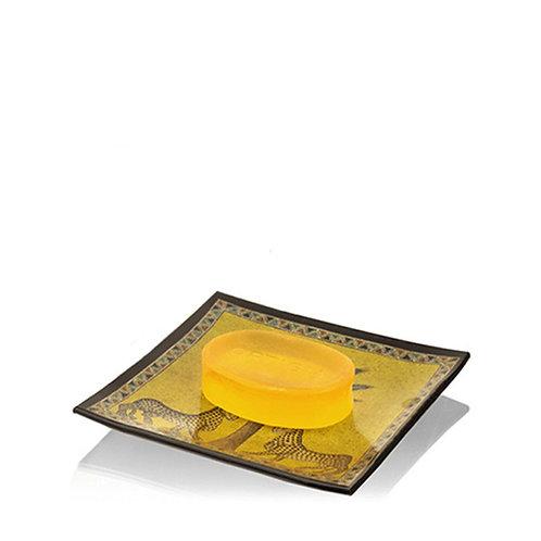 Ortigia Zagara Glass Plate and Soap 40 gr - Profumo Profumeria Artistica Sabaudia