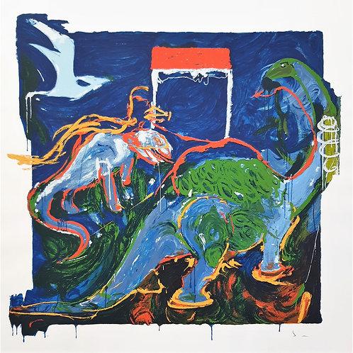 Mario Schifano - Reperti 1996 - Galleria Papier