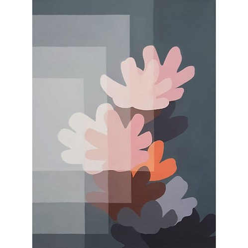 Marisa Fogliarini - Fiori di Campo - olio su tela - Galleria Papier