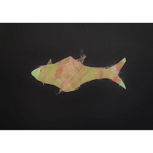 Alfonso Marino - La triglia Gaia, filastrocche - Collage -  Exclusive Galleria d'arte Papier