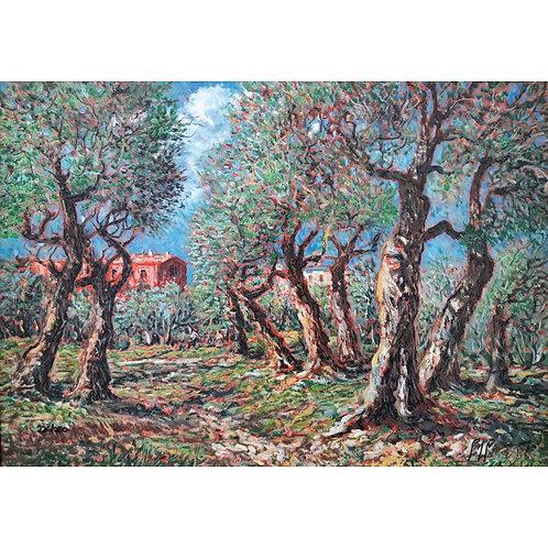 Giovan Francesco Gonzaga - Il campo degli ulivi 2007 - Galleria Papier