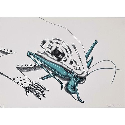 Aldo Turchiaro - litografia del 1975 - Galleria Papier