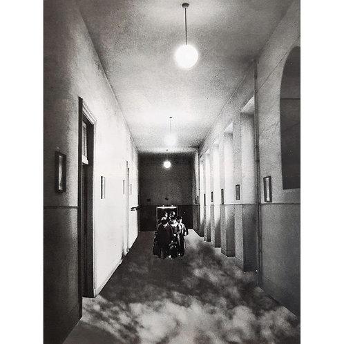 Alfonso Marino - Quattro passi tra le nuvole, Rilocazioni - Collage -  Exclusive Galleria d'arte Papier