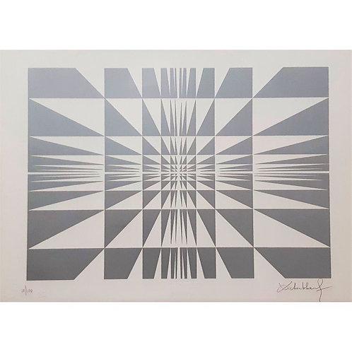 Victor Debach - Silver Composition - Galleria Papier