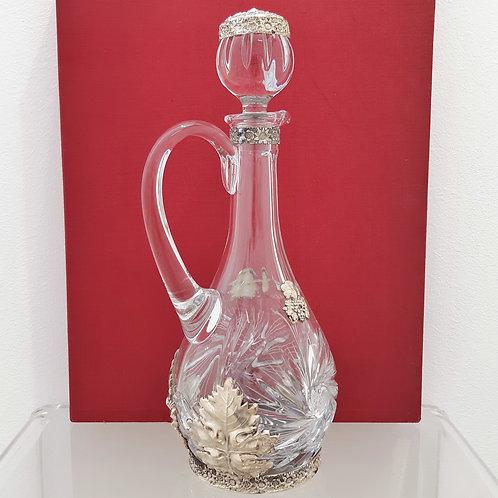 Bottiglia intagliata da vino Galleria Papier