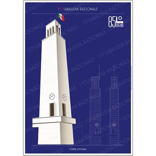 Torre Littoria A3 - Sabaudia Razionale - Exclusive Galleria Papier