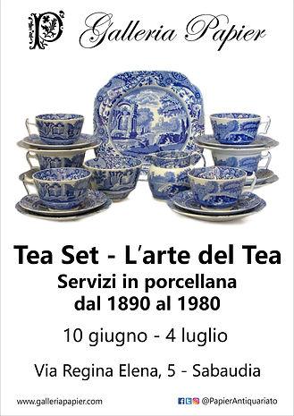 Tea Set: L'arte del Tè - Galleria Papier