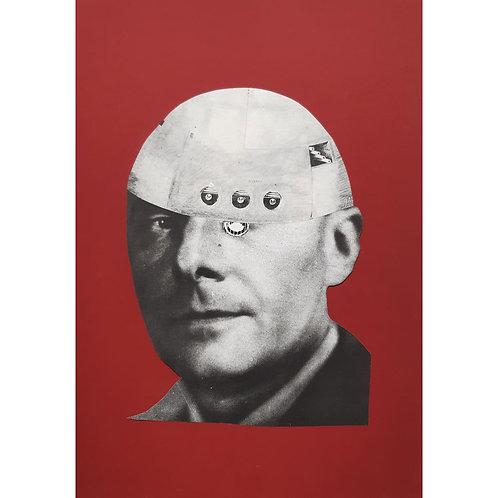 Alfonso Marino - Bentempelli, Maquillage - Collage -  Exclusive Galleria d'arte Papier