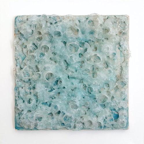 Paola Abbondi - Schiuma di mare - Terracotta, vetro e smalti portati in cottura- Exclusive Galleria d'arte Papier