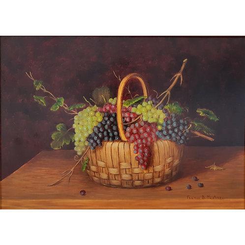 Natura morta con uva - Franca Martini - Galleria Papier