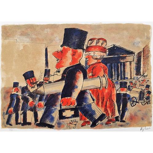 Il medico condotto - Franz Borghese - Galleria d'arte Papier