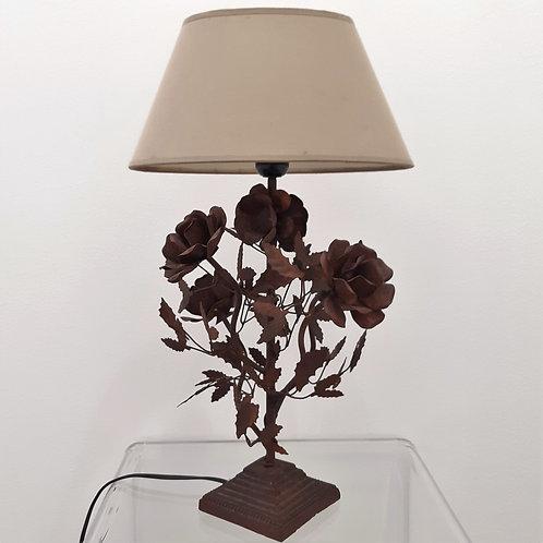 Lampada scultura rose Galleria Papier