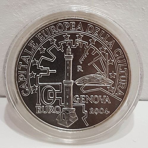 10 € Genova capitale della cultura europea 2004 Galleria Papier