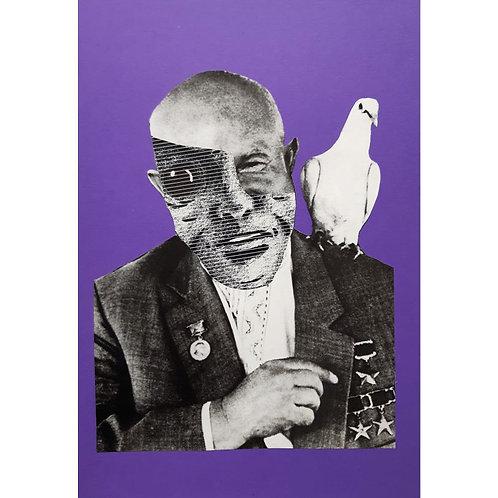 Alfonso Marino - Maquillage 2, Maquillage - Collage -  Exclusive Galleria d'arte Papier