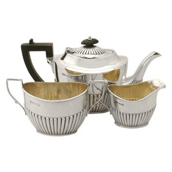 Tea set - James Dixon and Sons, Sheffield 1835 - 1841