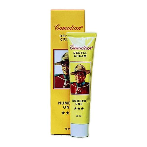 Dentifricio Canadian Dental Cream Number One 75 ml - Profumo Profumeria Artistica Sabaudia