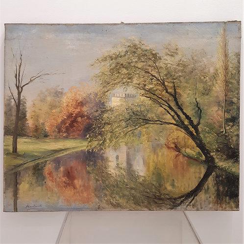 Paesaggio XIX secolo Galleria Papier