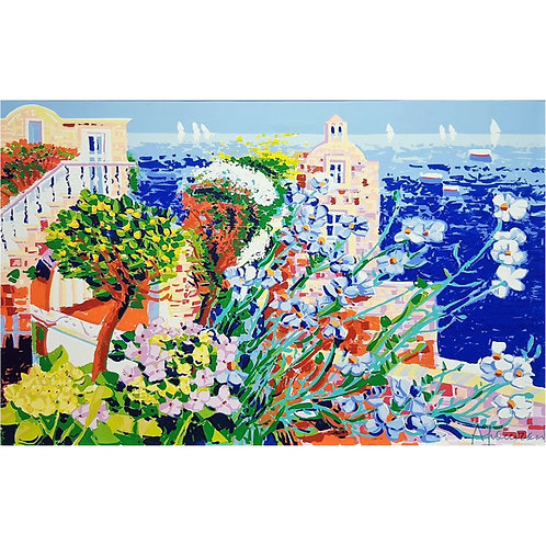 Athos Faccincani - Angolo di dolcezza a Capri - Galleria Papier