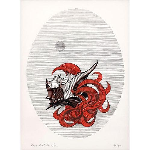 Mario Aubry - Notte 1974 - Galleria Papier