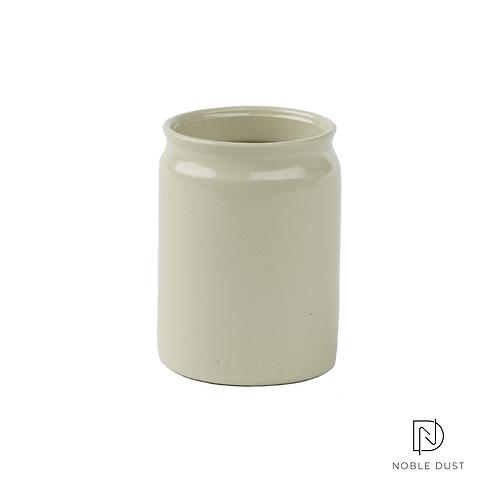 Tabakdose Keramik White