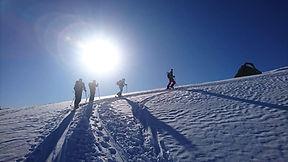 Ski touring 3 valleys, St Martin de Belleville