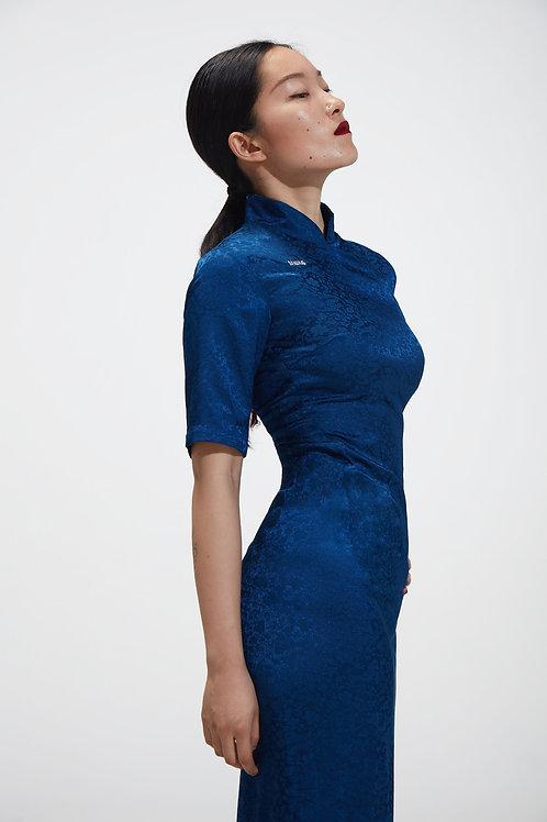 Lenka Knot button-side Maxi Dress