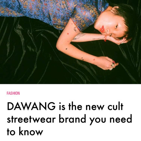 i-D: DAWANG is the new cult streetwear brand you need to know
