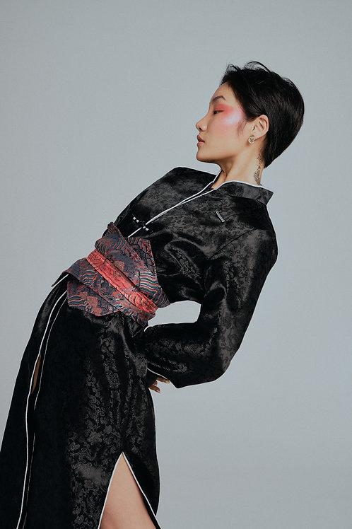 Lucia belted Jacket Dress