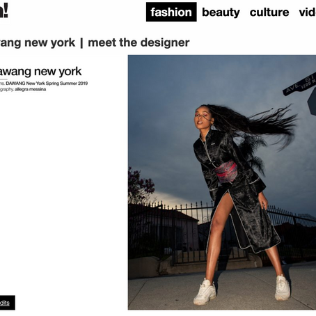 Schon Magazine Meet the Designer: DAWANG