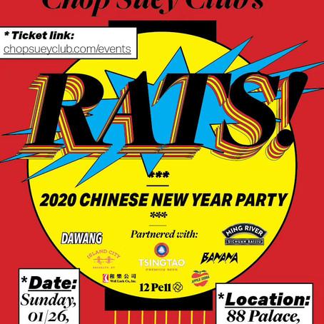 Lunar New Year 2020 Party with Chop Suey Club